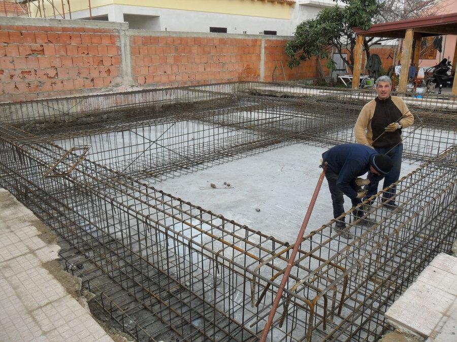 Foto telaio in ferro per fondamenta di melchiorre 348714 - Fondamenta casa ...