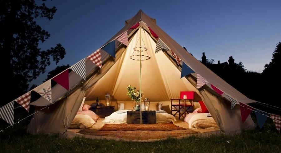 Sai cos il glamping il campeggio con un tocco di lusso for Cabine disney forte deserto