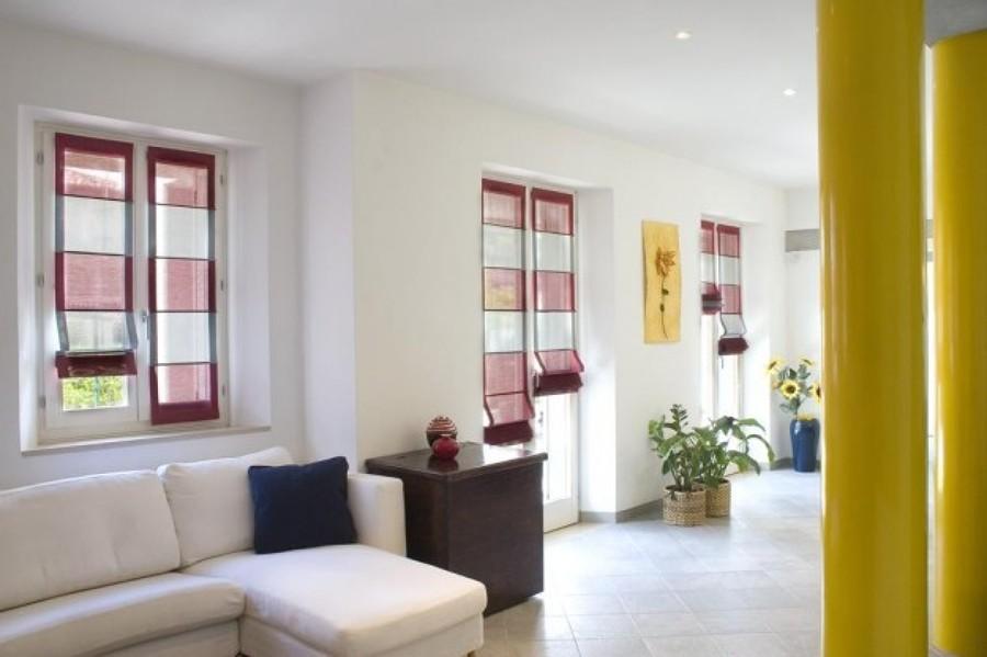 Progetto tende con stampa digitale idee articoli decorazione - Tende a pacchetto moderne per bagno ...