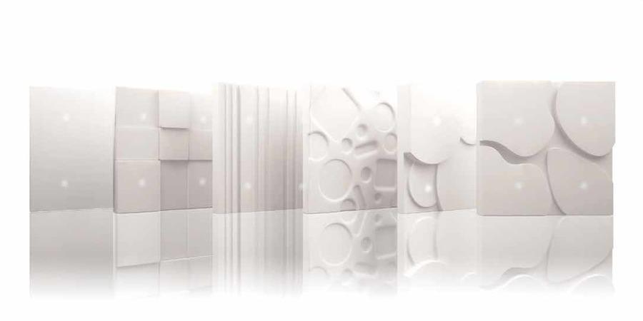 TENSE: la versione in Corian con varie lavorazioni 3D.