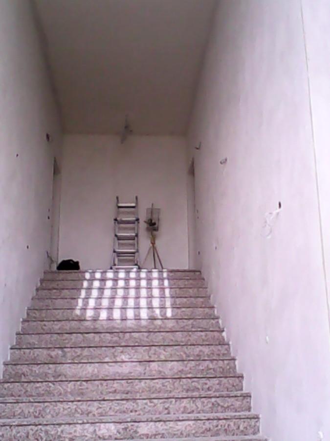 Lavori di resine pavimenti e velature pareti e rasature - Chiusura vano scala interno ...