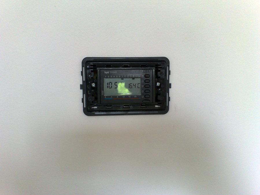 Foto termostato ambiente da incasso de simeone vito - Termostato de ambiente ...