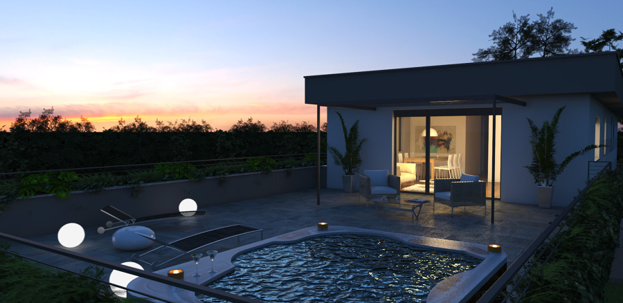 Best Arredare Terrazzo Attico Images - Home Design Inspiration ...