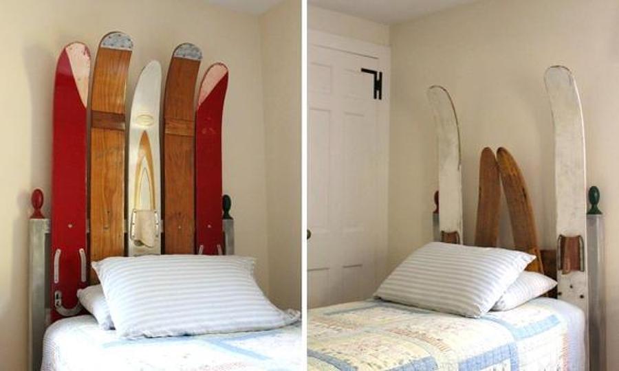 Foto testiera del letto con sci e snowboard di francesco esposito 367079 habitissimo - Testate letto con cuscini ...