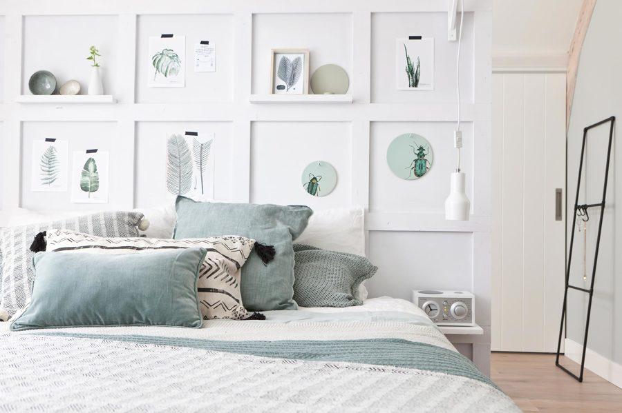 Testiere con comodino incluso idee interior designer - Idea testiera letto ...