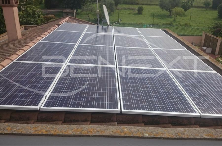 Impianto fotovoltaico con accumulo da 4 kw idee energie for Buone domande per chiedere a un costruttore di casa