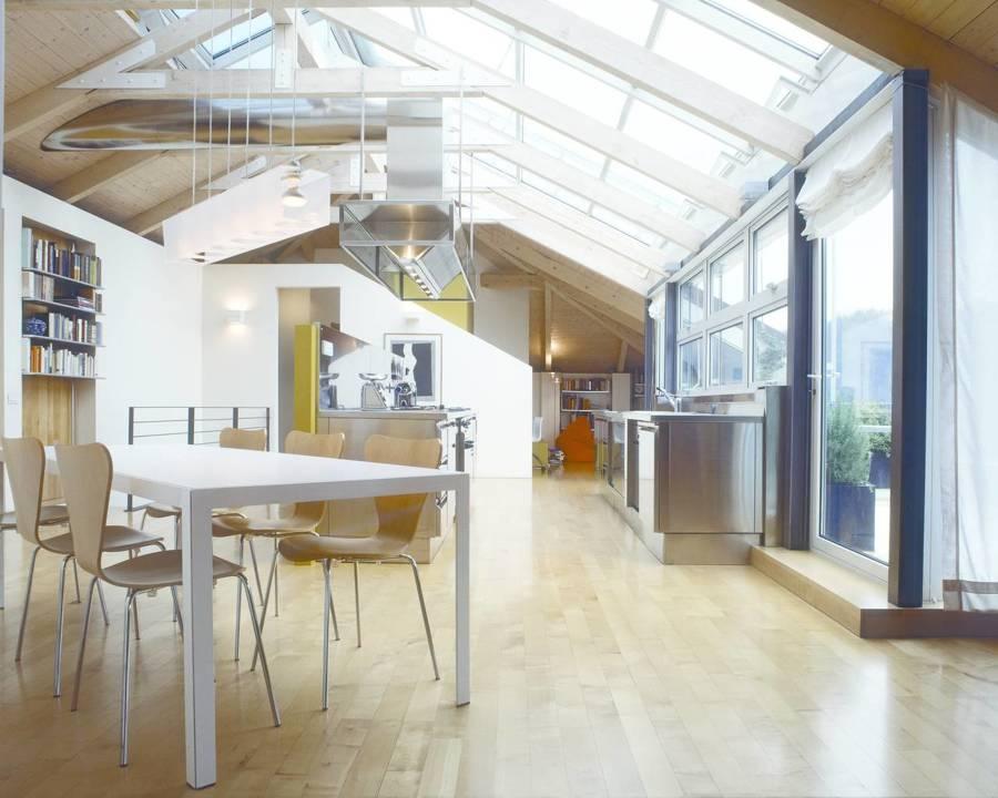tetti trasparenti sfruttare al meglio la luce naturale