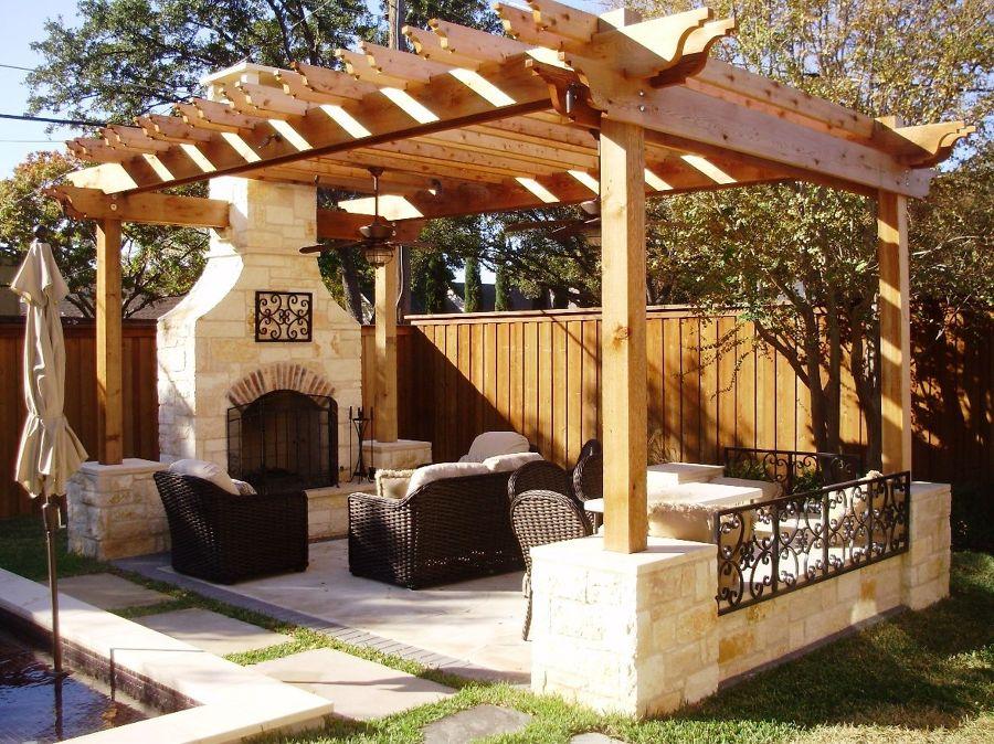 Foto tettoia di legno outdoor di marilisa dones 346650 for Case di un ranch di storia