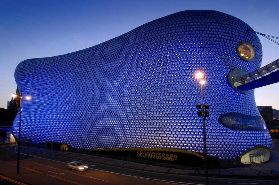 The Birmingham Bullring Shopping Centre