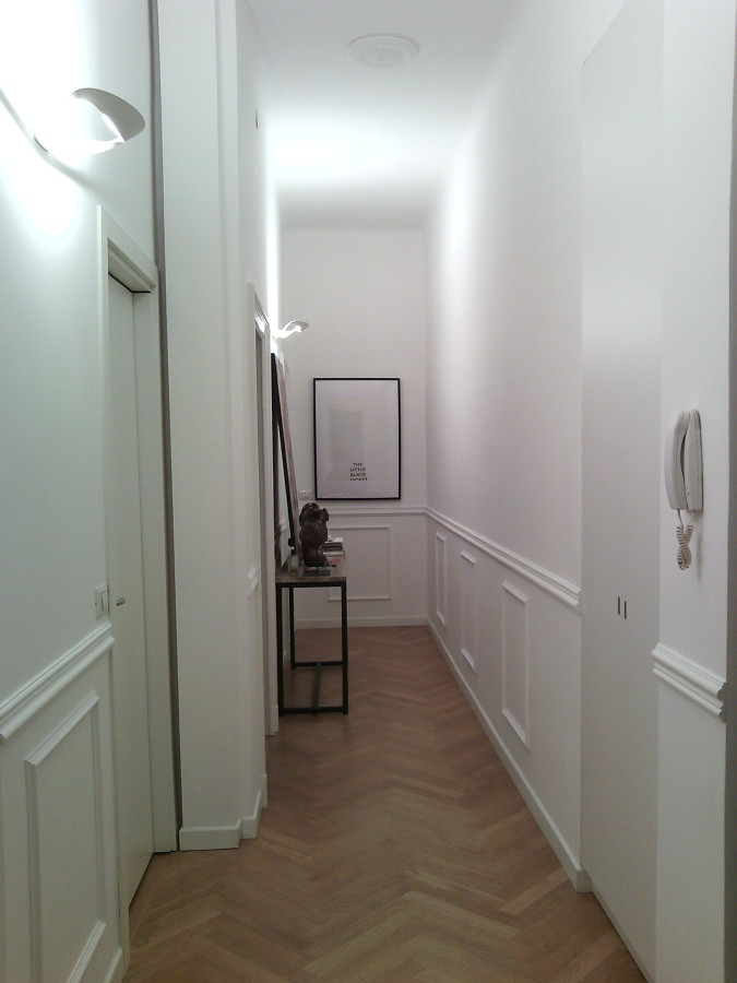 Tinteggiatura corridoio