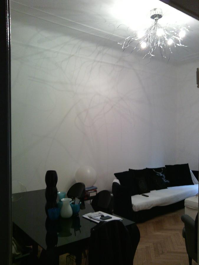 Tinteggiatura soggiorno