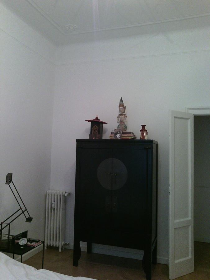 Tinteggiatura stanza da letto