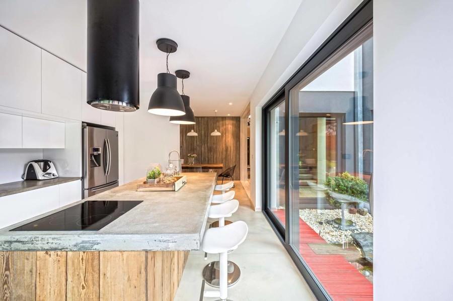 top cucina in cemento