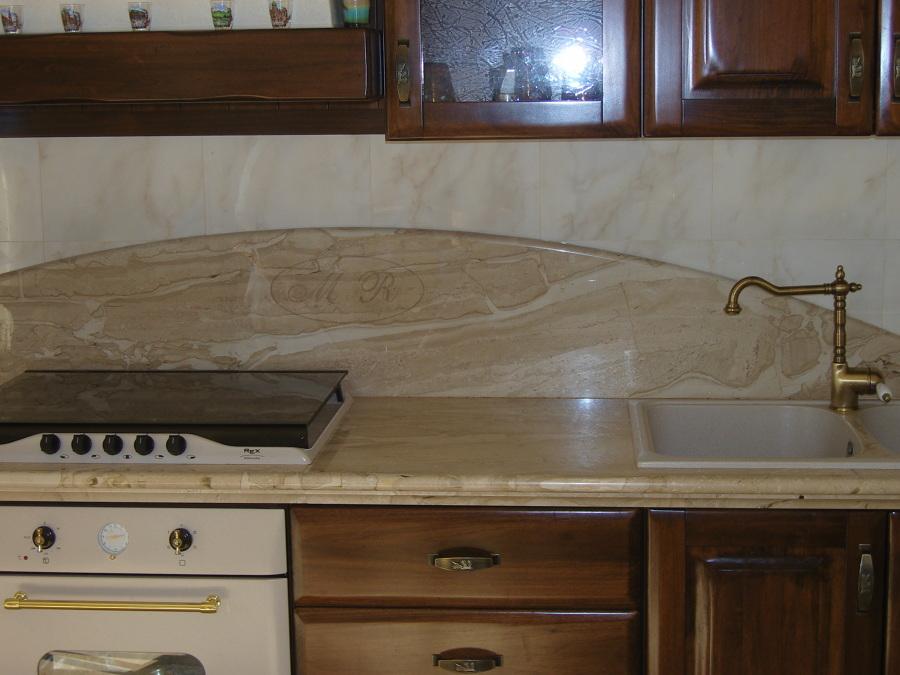 Foto: Top Cucina In Daino di Mastrogiacomo Marmi Srl #386220 ...