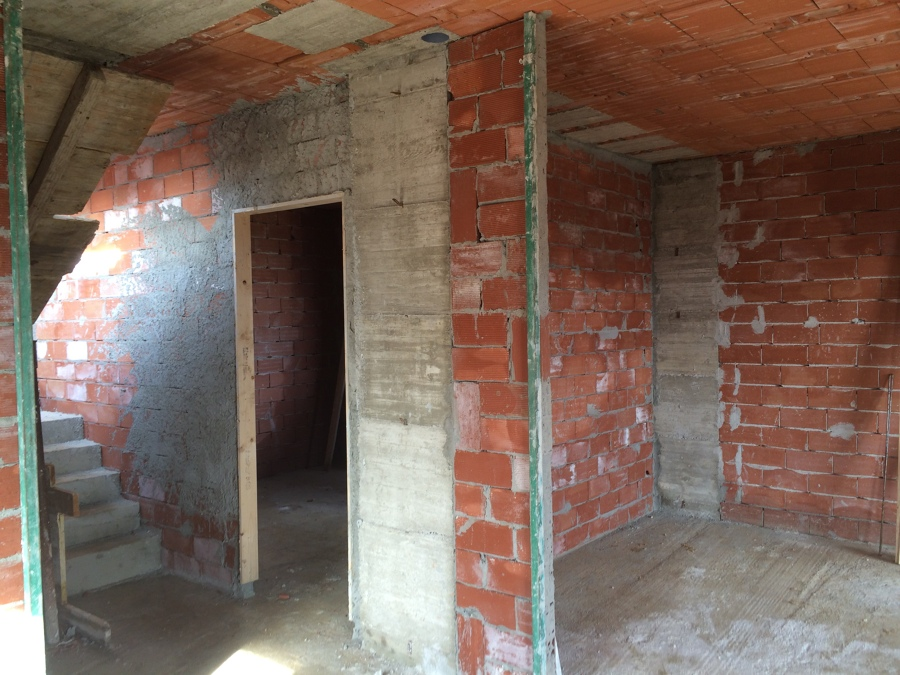 Costruzione di villetta unifamiliare a sant 39 olcese for Ristrutturazione case antiche interne
