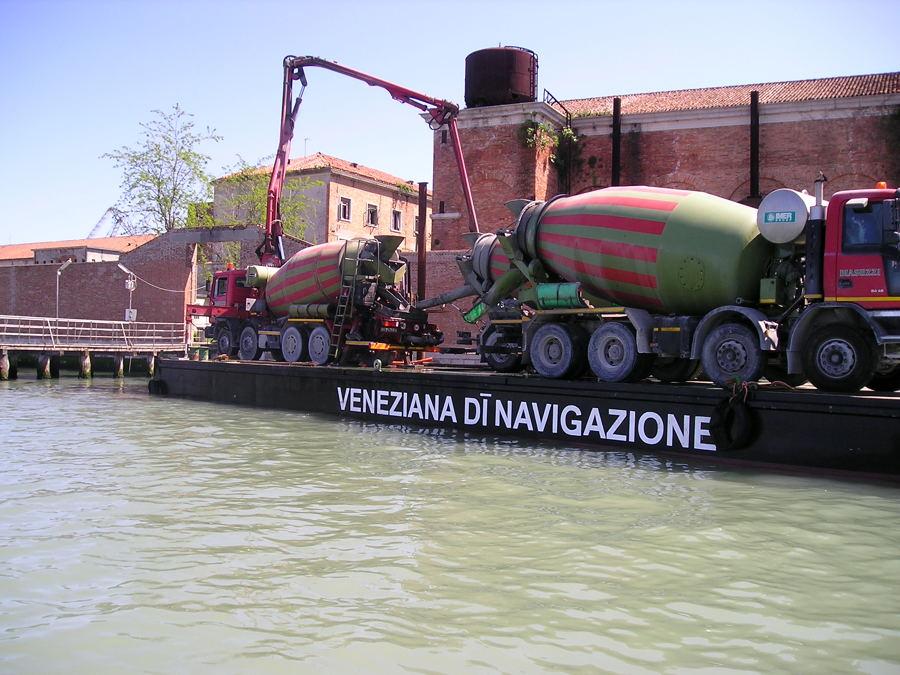 Trasporto intere betoniere (3)