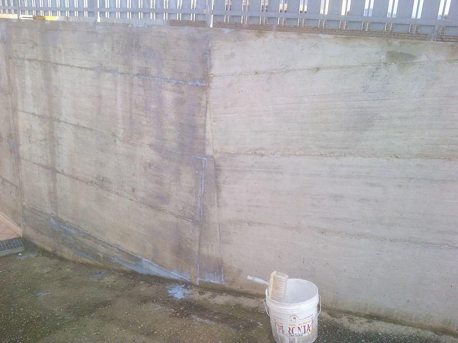 tratamento mura cemento armato