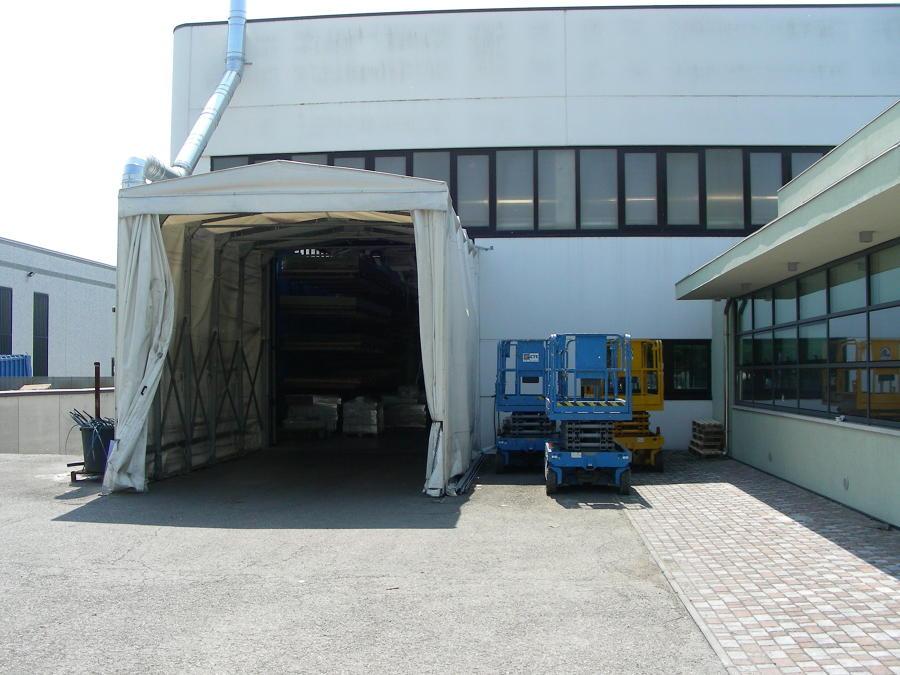 Tunnel mobile frontale da sostituire