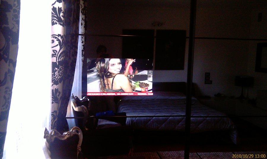 Tv integrata all'armadio