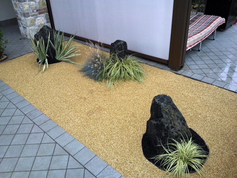 Progetto realizzazione di un ingresso in stile zen idee giardinieri - Un altro modo per dire porta ...