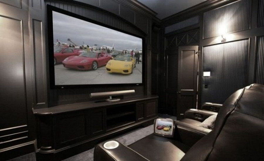 Come creare una sala cinematografica in casa idee reformas - Creare una casa ...