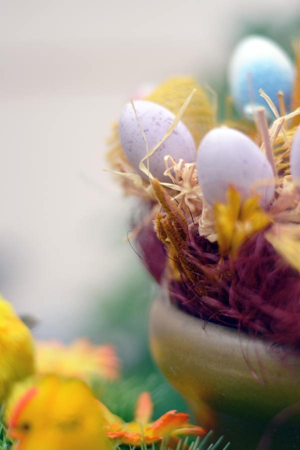 uova colorate colori pastello