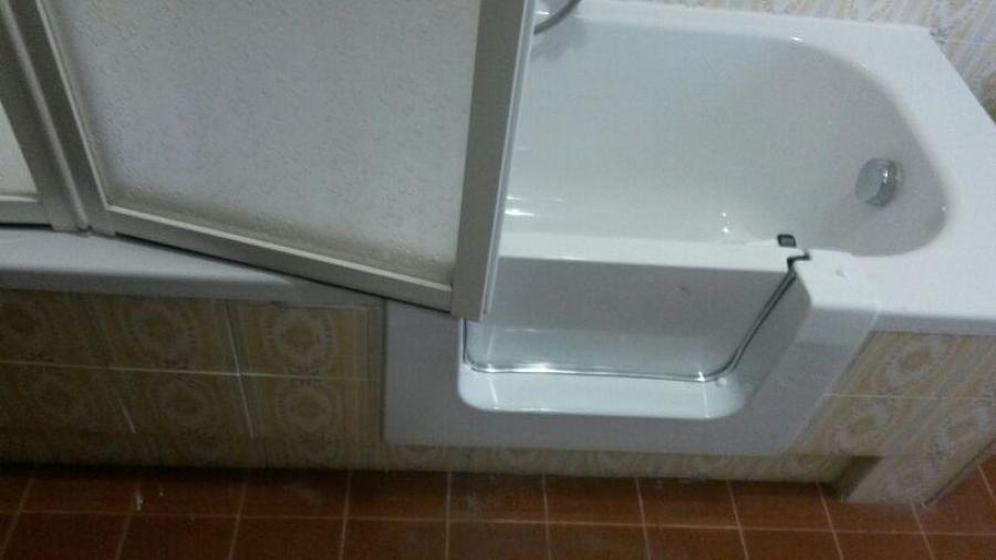 Progetto di sovrapposizione vasca con sportello progetti - Vasca bagno con sportello ...