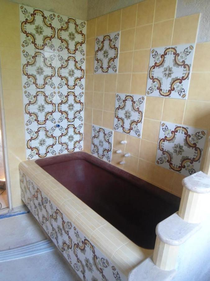 Top Foto: Vasca da Bagno In Muratura Realizzata In Cemento Modellato a  DU65