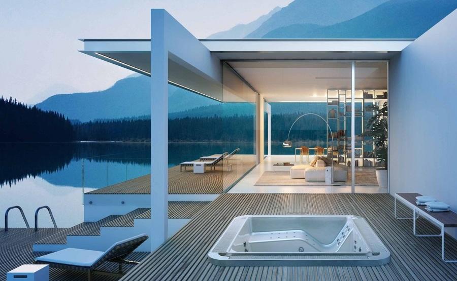 Vasca idromassaggio crea la tua piccola spa in casa - Piccola palestra in casa ...