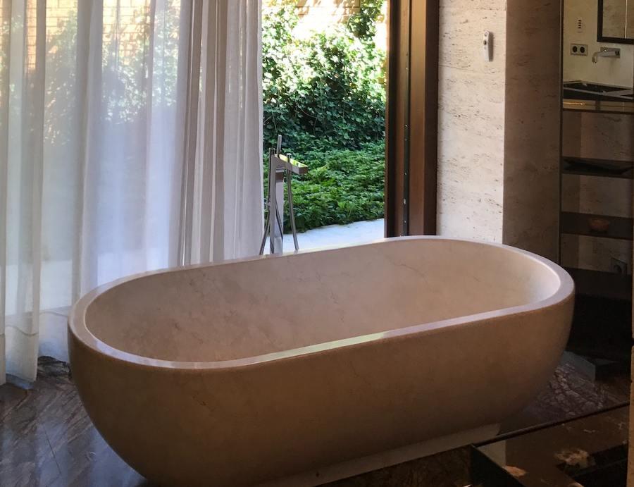 vasca marmo