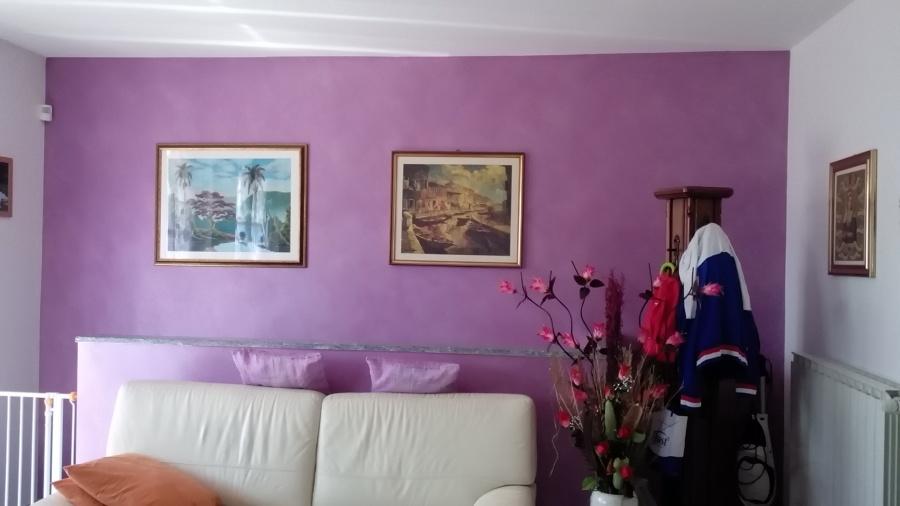 velatura colore viola