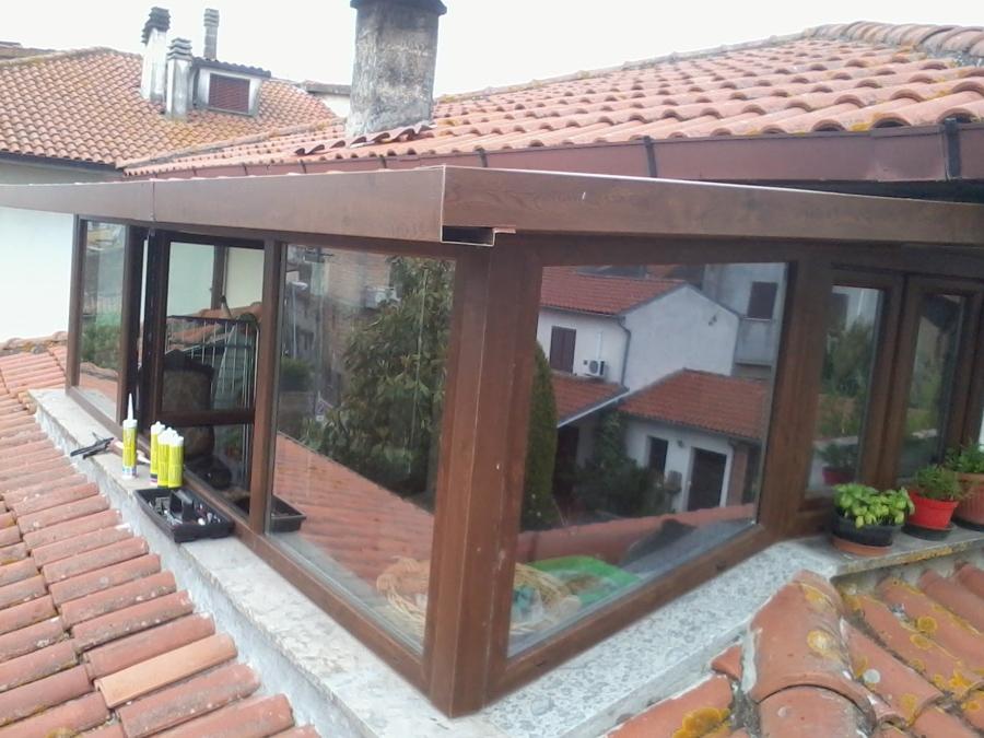 Foto: Veranda\\chiusura Terrazza di C.i.met. Serramenti #568301 ...