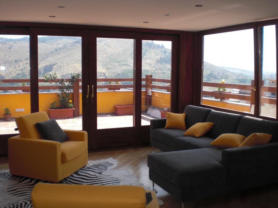 Progetto Veranda su Attico | Idee Ristrutturazione Casa