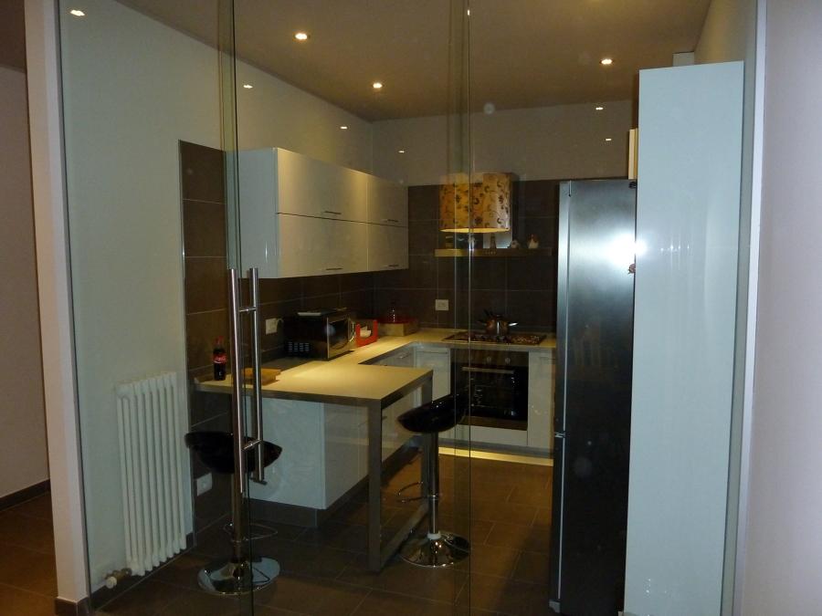 Foto vetrata cucina de vetreria marana 48444 habitissimo - Cucina con vetrata ...