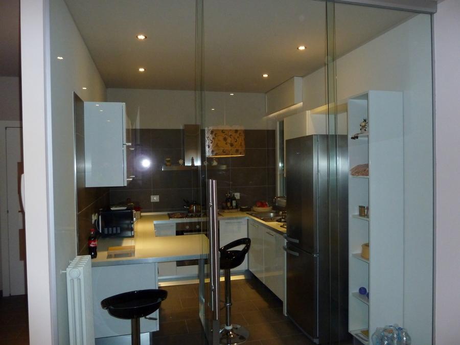 progetto realizzazione divisorio cucina  idee vetrai, Disegni interni