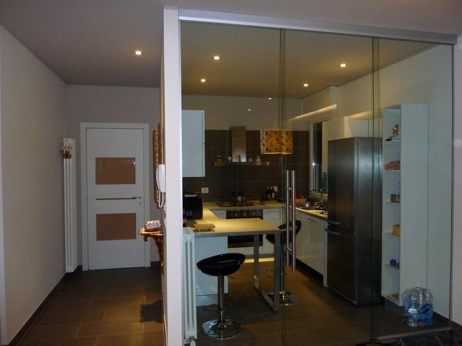 Foto: Vetrata Cucina di Vetreria Marana #48446 - Habitissimo