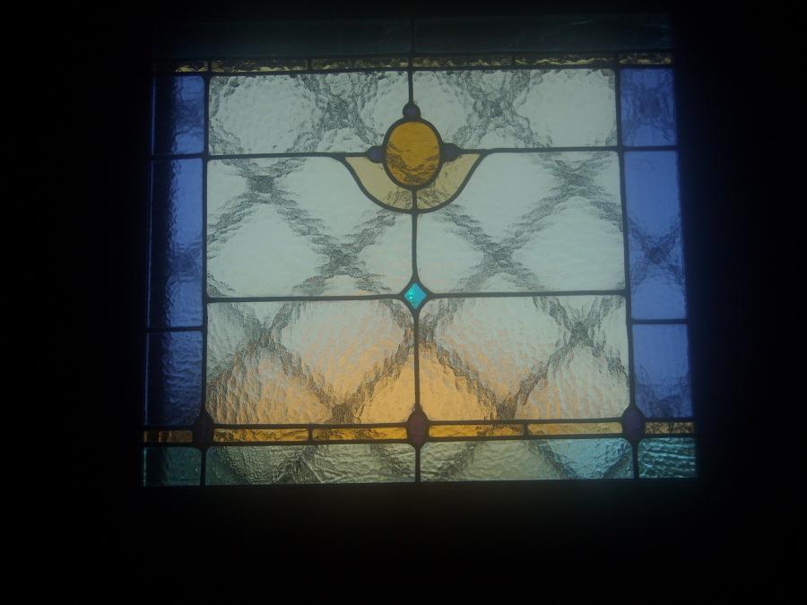 Foto vetrata per bagno di vetrate artistiche di man - Punto bagno treviso ...