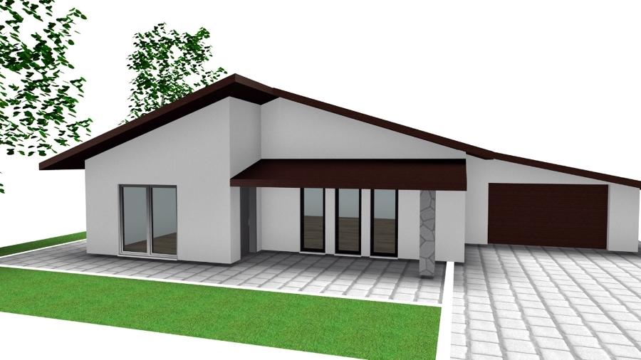 Progetto realizzazione villa 100 mq idee costruzione case - Progetto casa 100 mq ...