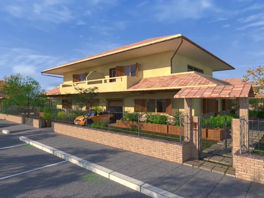 Progetto villa bifamiliare a roma rm idee - Progetto casa roma ...