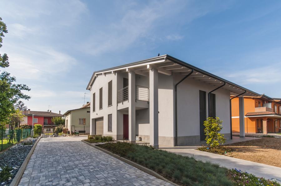 Villa Mantova - vista esterna