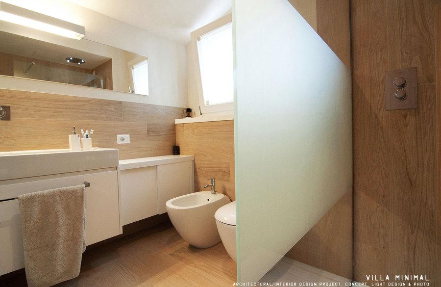 bagno idee Minimal : Progetto Realizzazione Villa Minimal Idee Architetti
