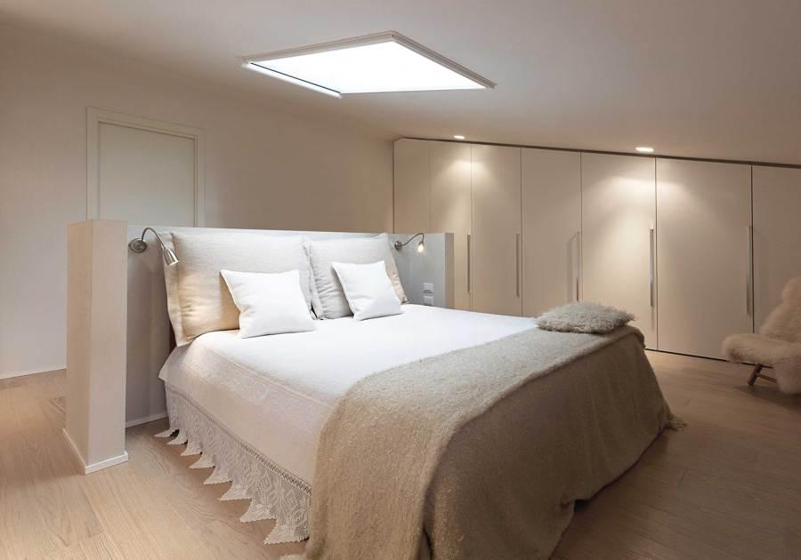 Progetto realizzazione villa minimal idee architetti for Camere da letto minimal chic
