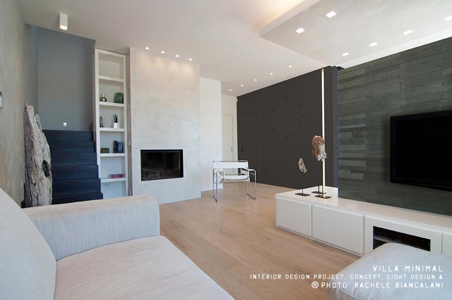 Progetto realizzazione villa minimal idee architetti for Villa arredamenti milano