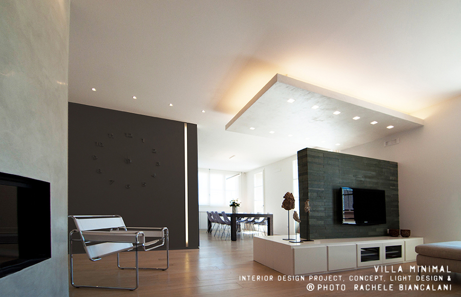 Progetto realizzazione villa minimal idee architetti for Design a 2 piani