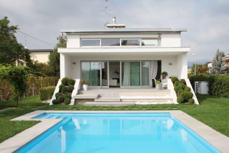 villa piscina