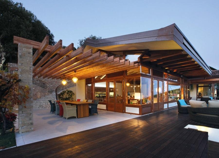 Casa rustica moderna esterno progetto di casa moderna casa