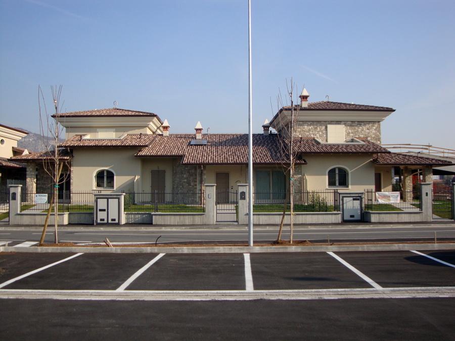Ville costruite in Ciliverghe di Mazzano (BS)