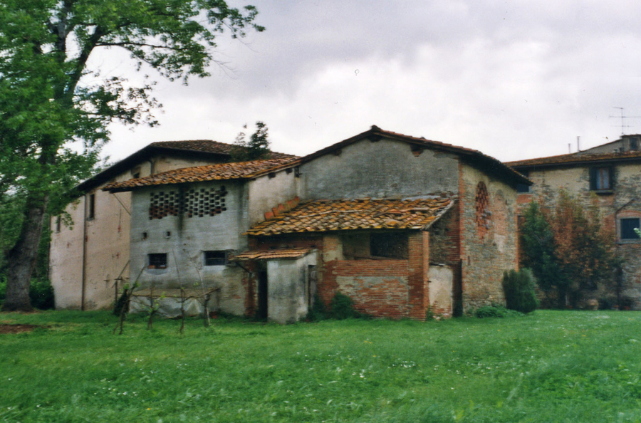 Villino Mavì vista sud, prima dei lavori