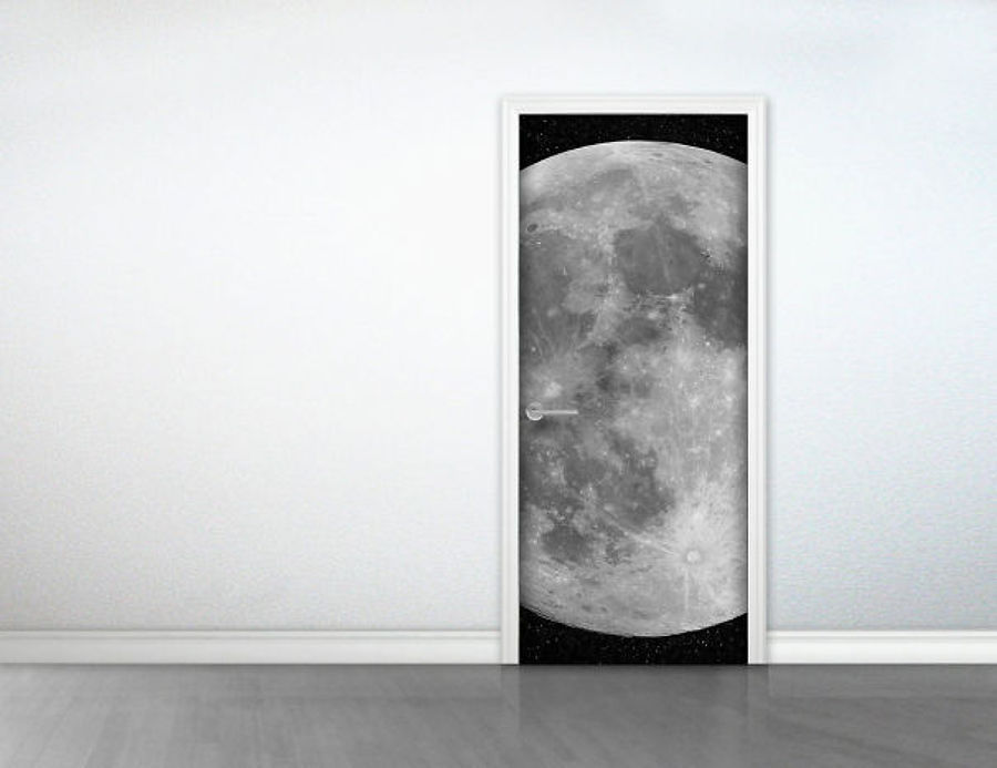 vinile con luna