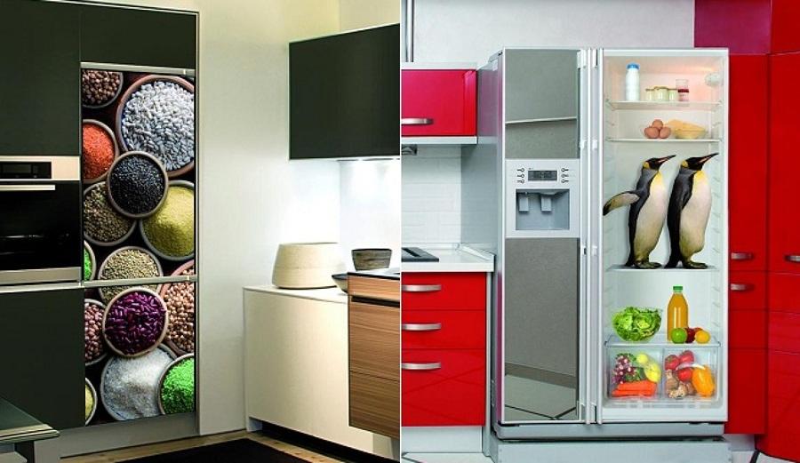 Decorare il frigorifero con gli adesivi in vinile idee - Decorare frigorifero ...